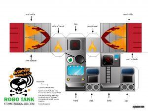 Robot Tank Doll